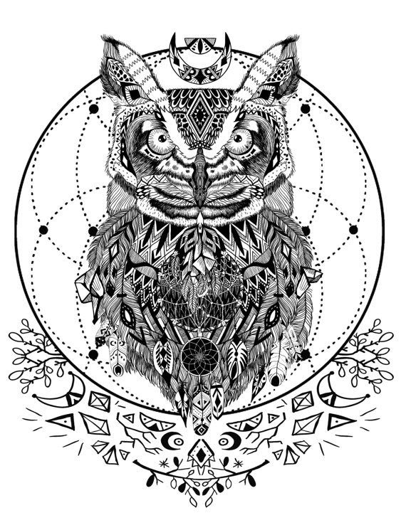 Spirit Animal Coloring Pages at GetColorings.com   Free ...