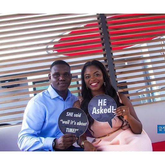 Man Surprises Girlfriend With Marriage Proposal (Photos)