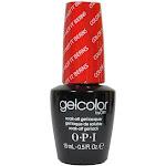 OPI Gelcolor Soak-Off Gel Lacquer, Color So Hot It Berns Z13 - 0.5 oz bottle