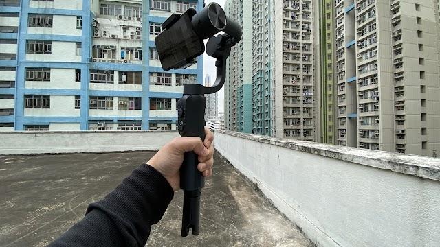 【自拍好物】S5B 三軸手機拍攝穩定器 電話都可以拍出電影感