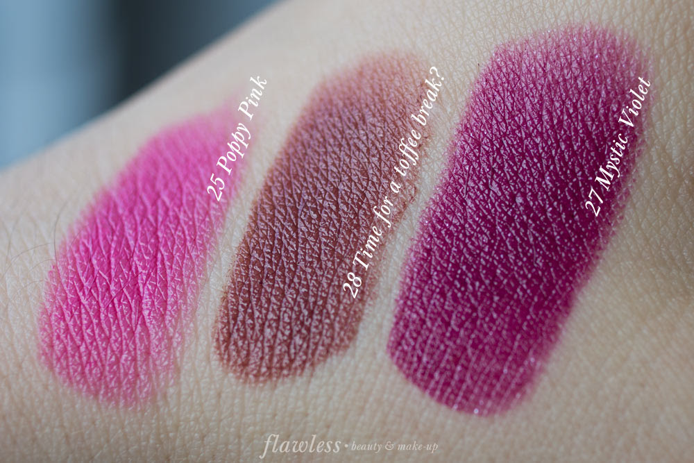 Essence Longlasting Lipstick Herbst/Winter 2016