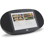 JBL Link View Voice-Activated Wireless Smart Speaker with HD Touch Screen - Black