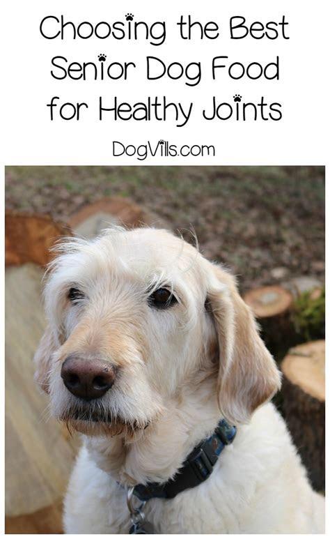 senior dog food  healthy joints