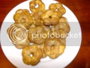 biscoitos bi-colores
