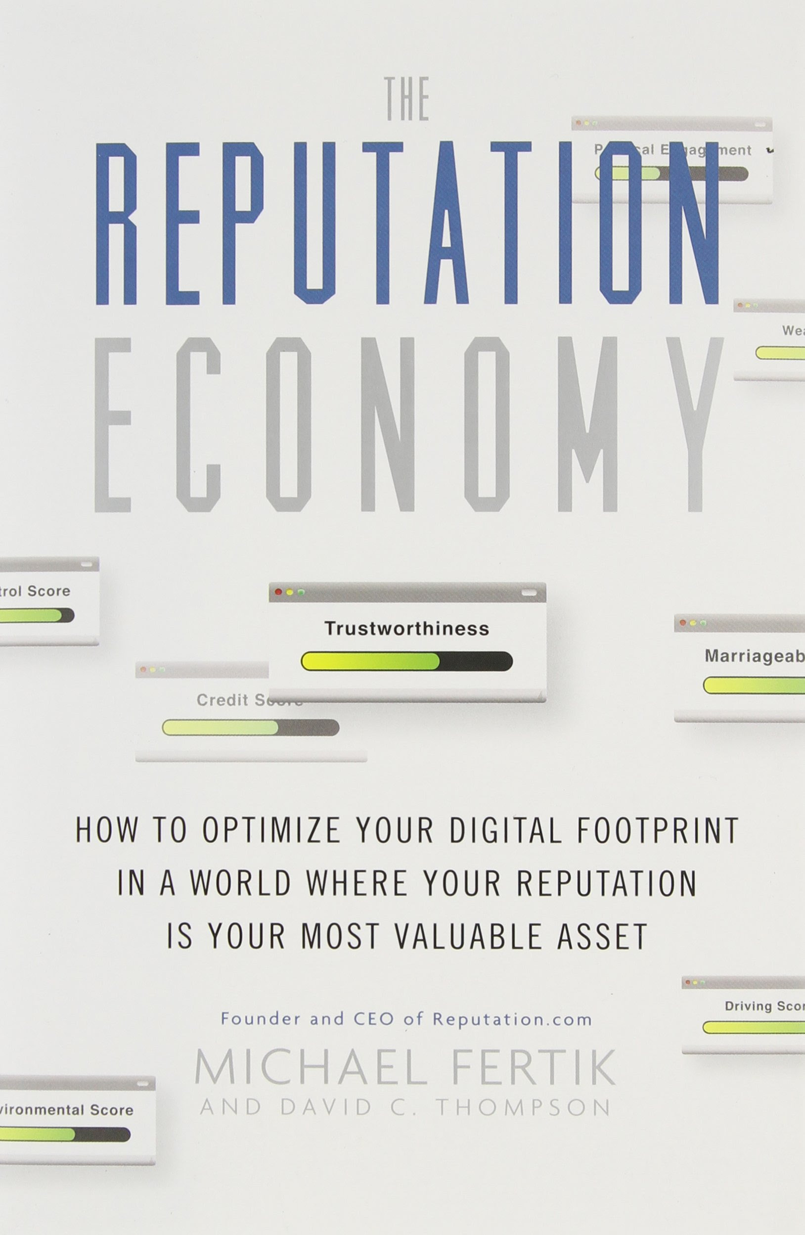 Buy The Reputation Economy on Amazon.com