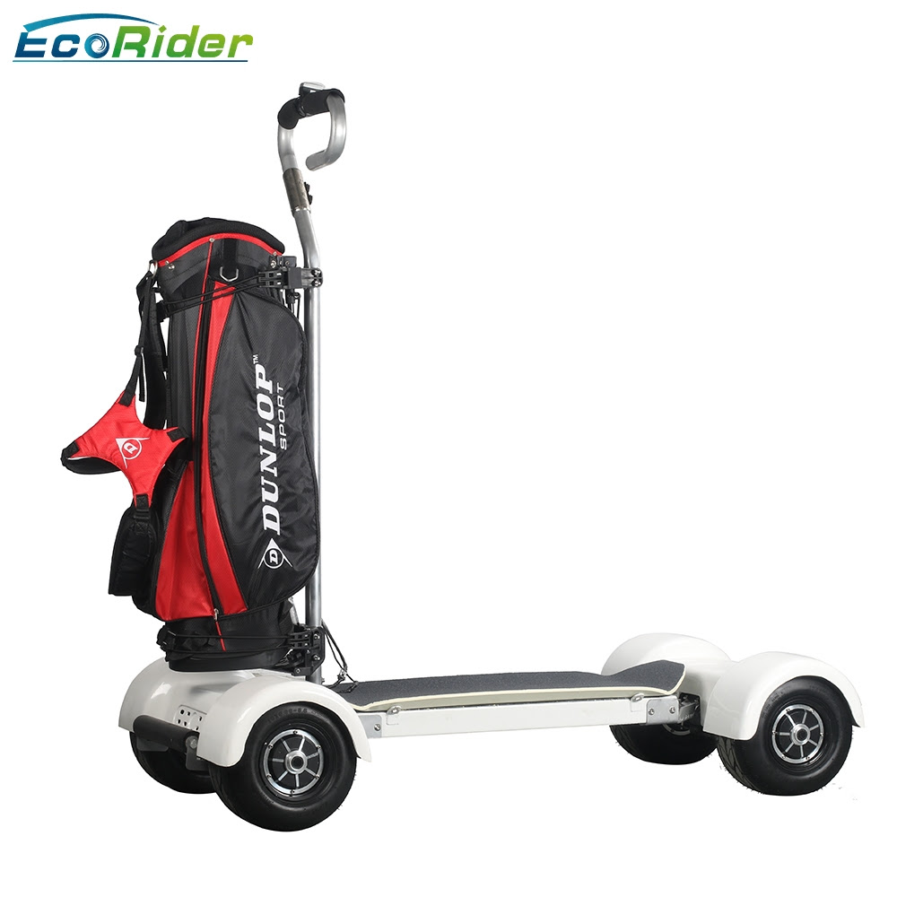 Four wheels electric skateboard golf board with 60V big battery and long range