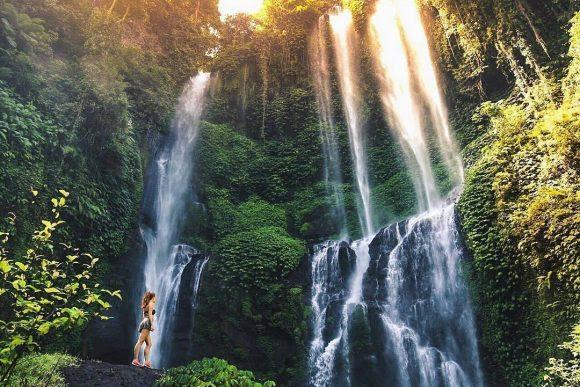 Air Terjun Sekumpul Singaraja Punapi Bali