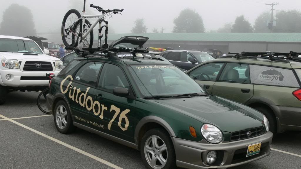 Bicycle on Car