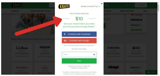 Ebates-Get Paid To Shop - Your On-line Income For Life
