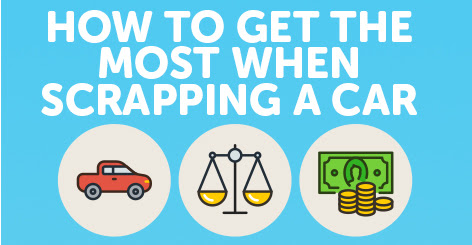 How To Get The Most When Scrapping A Car [Infographic]