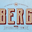 Berg is a huge layered font