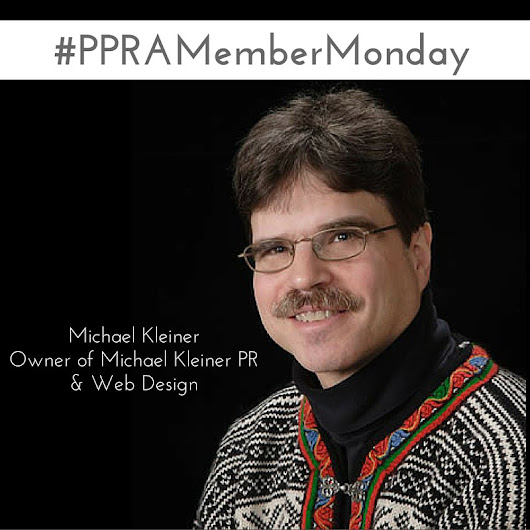 "Michael Kleiner on Twitter: ""i am first #PPRAMemberMonday feature on @PPRA blog  @sbnphila """