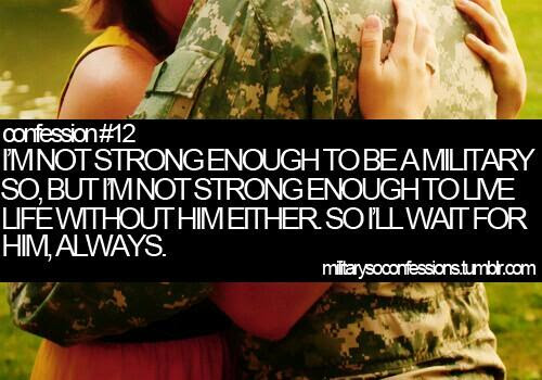 Im Not Strong Enough To Be A Military So But Im Not Strong Enough