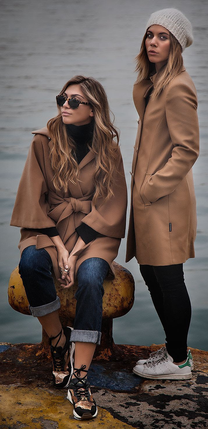 Camel Coat by Twin Fashion