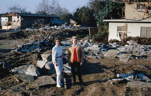 Baldwin Hills dam break aftermath Dec. 1963 #14 by srk1941