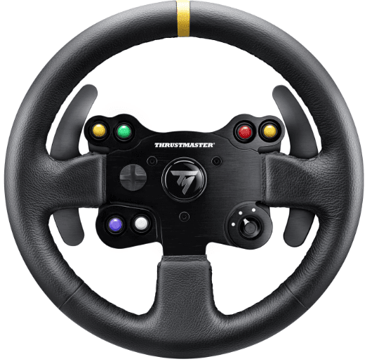 A New, Leather-Wrapped Add-on For Thrustmaster Racing Wheels - Daily Game
