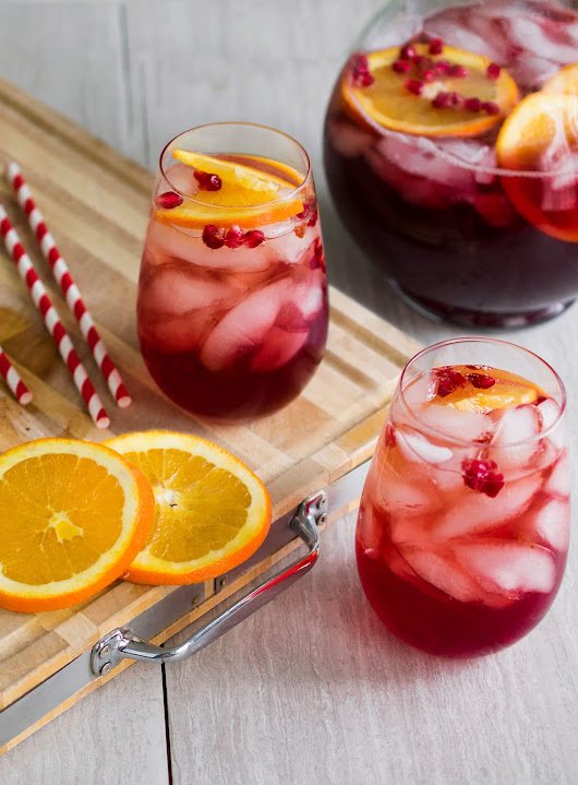 Sparkling Christmas Punch Recipe - Craving Some Creativity