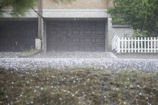 DFW Hail Season is Approaching - Top Notch Image
