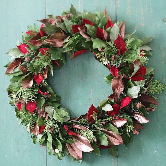 40 Christmas Wreaths Ideas for 2011