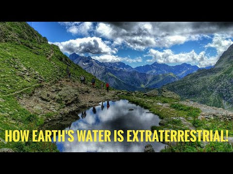 How Earth's water is extraterrestrial!