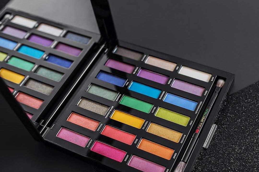 Urban Decay Full Spectrum Eyeshadow Palette Swatches