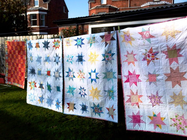 Bee Blessed Wonky Star Quilts