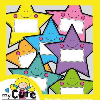 Star Labels for the Classroom {Editable} - FREE | Creative ...