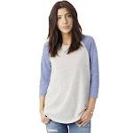 Alternative Women's Baseball Eco-Jersey Raglan T-Shirt