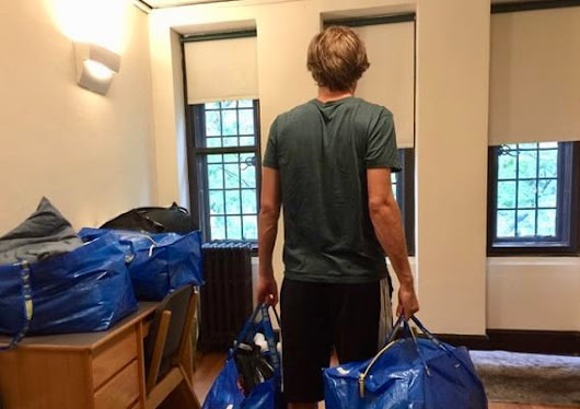 Moving Out of the College Dorm, for the Summer or Forever