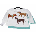 Carter's Girl's 2-Pack Shirt Set pw tier 18 mouth
