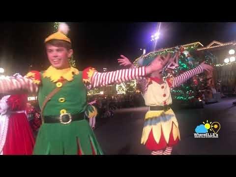 Disneyland Christmas Parade