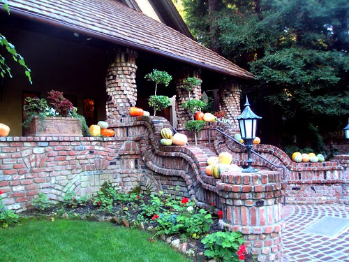 lovely harvest entry way