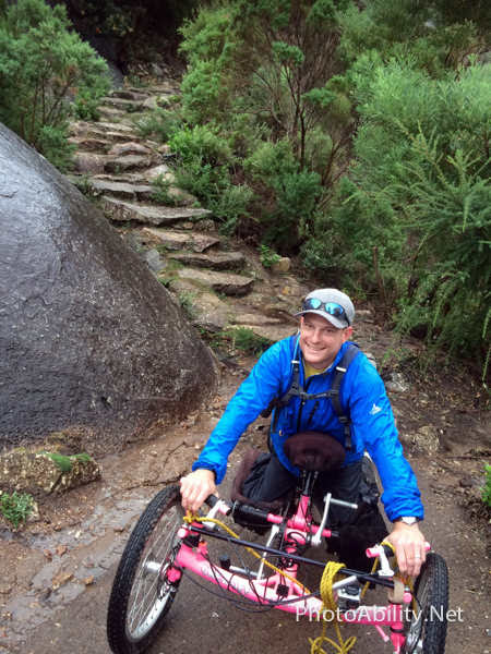 Pushing Handcycles to the extreme on Victoria's majestic Wilsons Promontory