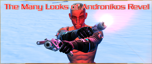 SWTOR Face Star Wars the Old Republic related news: The Many Looks of Andronikos Revel