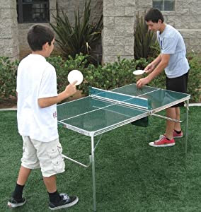 Amazon.com: Oasis HEAVY-DUTY Mini COOL Ping Pong Game Table - High