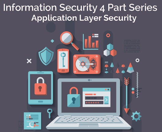 25 Apr Information Security Part 4: Application Layer Security