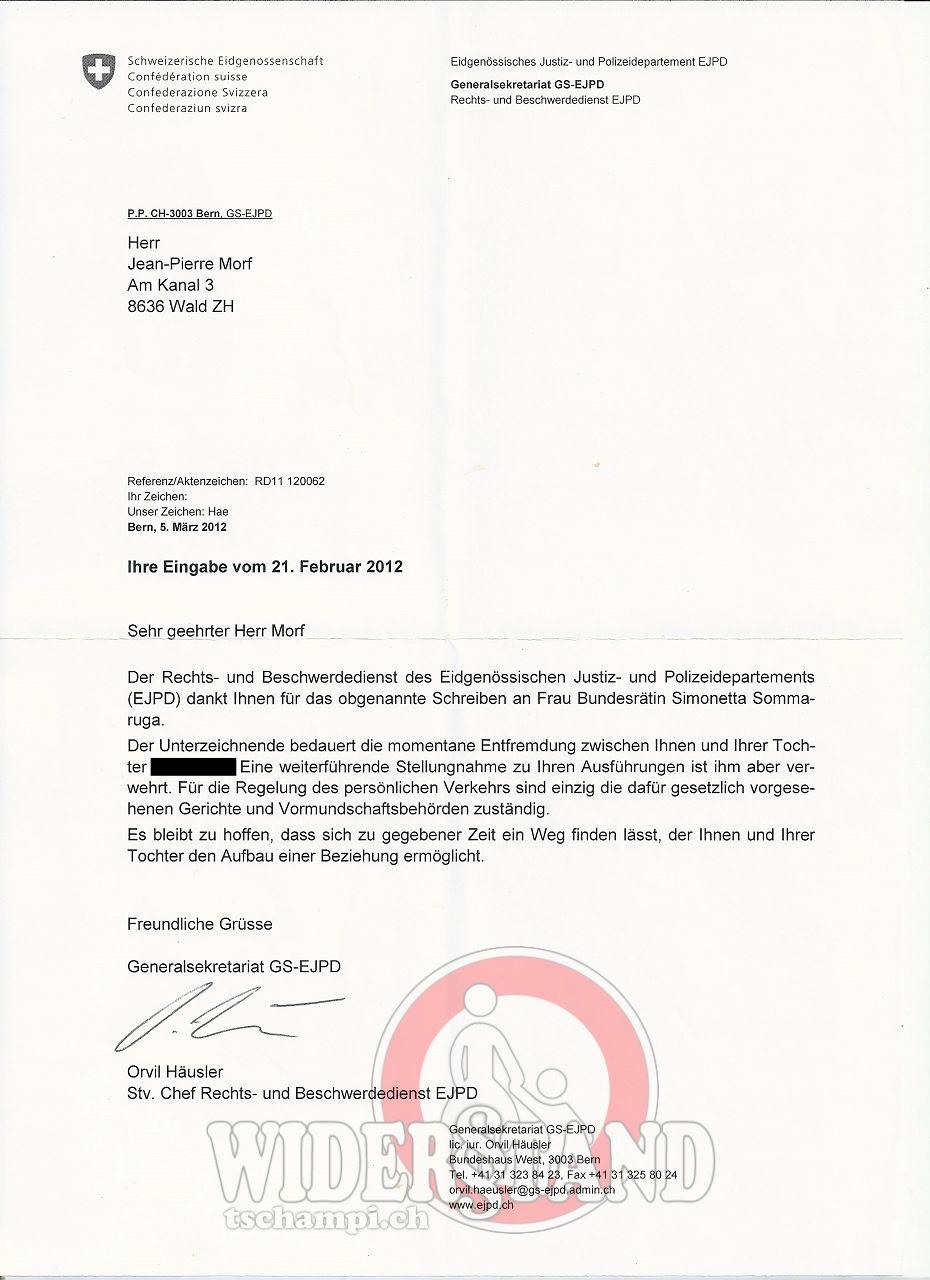 Deutsche Verbindlichkeiten Hilfe Und Treuhand Verwaltung Brief Bekommen