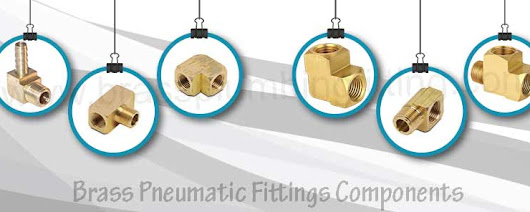 Brass Pneumatic Fittings Components | Brass Male Connectors | Brass Hex Bushing