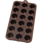 Mrs Andersons European Grade Silicone Chocolate Mold Ice Tray - Truffle Shape