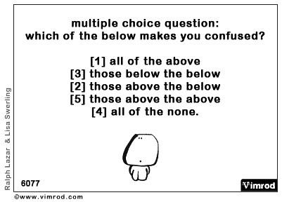 AP Lang Survival Guide: #5. AP Multiple Choice