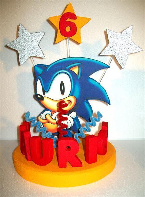 Sonic Cake Topper Cake Decor   Cake Ideas by Prayface.net