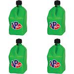VP Racing 5 Gallon Motorsport Racing Liquid Utility Jug Can, Green (4 Pack) by VM Express