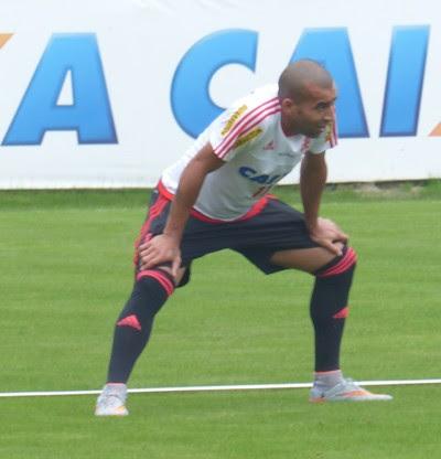 Emerson Sheik Flamengo (Foto: Fred Gomes / GloboEsporte.com)