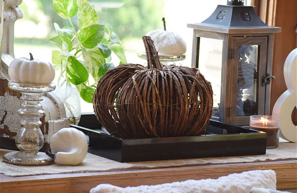 Fall Vignettes Around the Home - Timeless Creations, LLC