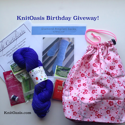 KnitOasis Birthday Giveaway