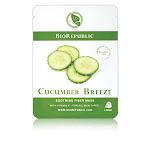 BioRepublic Skincare - Soothing Fiber Face Sheet Mask Cucumber Breeze