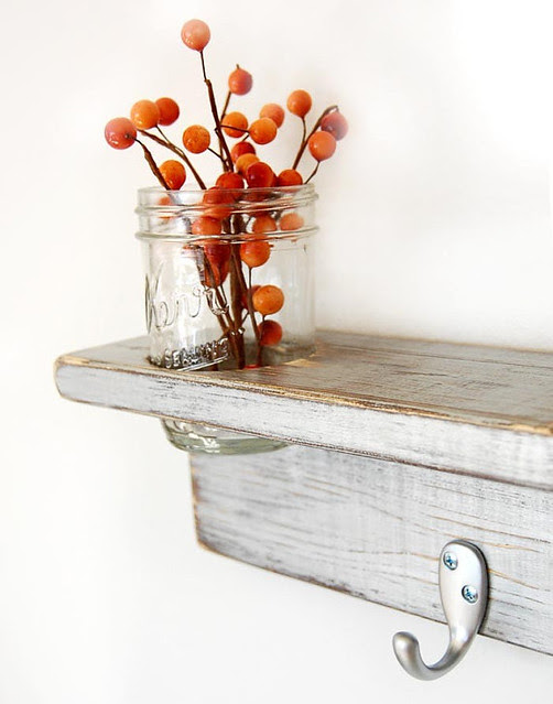 Etsy Find 6- Wood Shelf from OldNewAgain, Beautiful Vintage Wooden Shelf, Etsy Finds