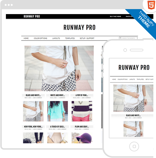 Download WordPress Fashion Theme | Web Anthology