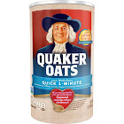 Quaker Quick Oats - 42 oz can