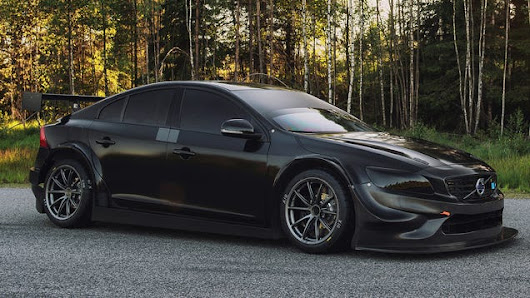 Volvo's New S60 Touring Car Racer Is A Sinister Swedish Speed-Meatball